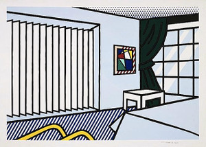 BEDROOM BY ROY LICHTENSTEIN