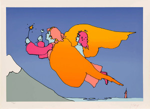 THE HIGHEST MOUNTAIN BY PETER MAX