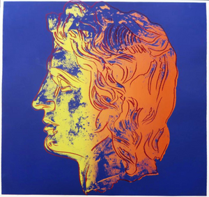 ALEXANDER THE GREAT (TRIAL PROOF) FS II.291 BY ANDY WARHOL