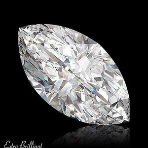 GIA Certified 1.01 Carat Marquise Diamond D Color VS2 Clarity Excellent Investment