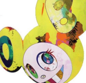 AND THEN AND THEN. YELLOW UNIVERSE DOB BY TAKASHI MURAKAMI