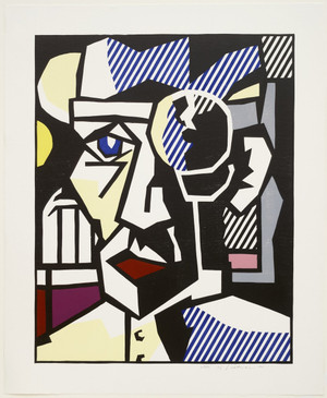 DR. WALDMANN BY ROY LICHTENSTEIN