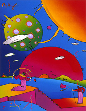YEAR OF 2250 BY PETER MAX