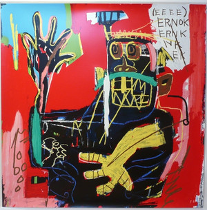 ERNOK 1983 BY JEAN-MICHEL BASQUIAT