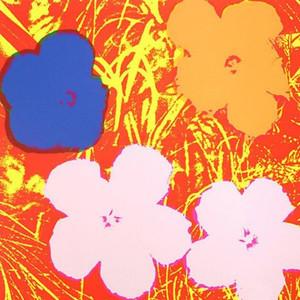 FLOWERS FS II.69 BY ANDY WARHOL