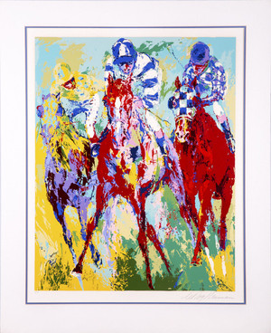 THE FINISH BY LEROY NEIMAN
