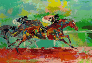 RACE OF THE YEAR BY LEROY NEIMAN