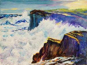 CRASHING WAVES BY CHARLES KONTOS
