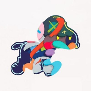STAY STEADY SNOOPY BY KAWS