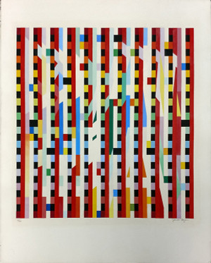 UNKNOWN TITLE BY YAACOV AGAM
