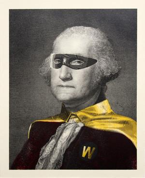 PRESIDENT'S DAY (HERO) BY MR. BRAINWASH