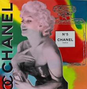 CHANEL MARILYN MONROE BY STEVE KAUFMAN
