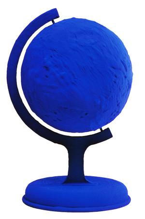 GLOBE TERRESTRE BLEU (BLUE EARTH) RP7 BY YVES KLEIN