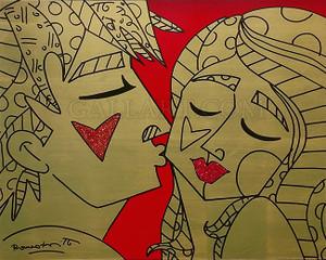 RED BY ROMERO BRITTO
