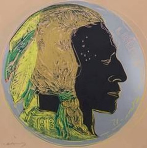 INDIAN HEAD NICKEL FS II.385 (TRIAL PROOF) BY ANDY WARHOL