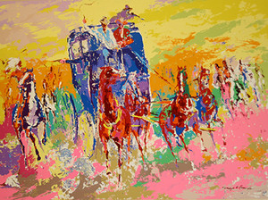HOMAGE TO REMINGTON BY LEROY NEIMAN