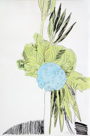 FLOWERS FS II.110 (HAND COLORED) BY ANDY WARHOL