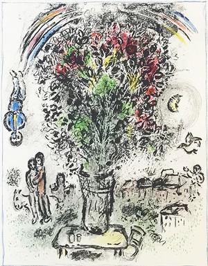 BOUQUET A L'ARC-EN-CIEL BY MARC CHAGALL
