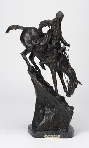 MOUNTAIN MAN BY FREDERIC REMINGTON (AFTER)