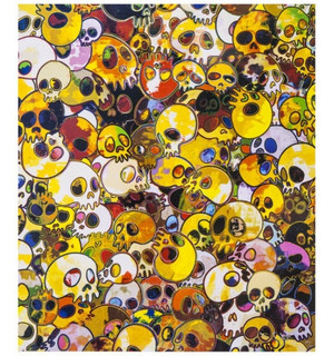 ACUPUNCTURE PAINTING-TERRE VERDE BY TAKASHI MURAKAMI