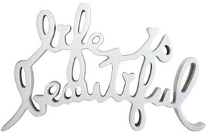 LIFE IS BEAUTIFUL - HARD CANDY (CHROME) BY MR. BRAINWASH