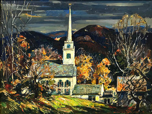 TOP OF THE HILL BY WILLIAM LESTER STEVENS