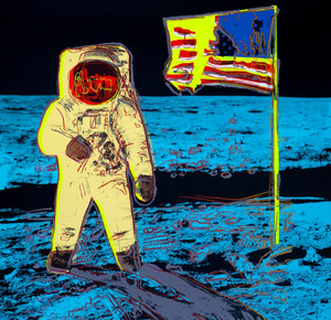 MOONWALK (YELLOW) BY ANDY WARHOL FOR SUNDAY B. MORNING