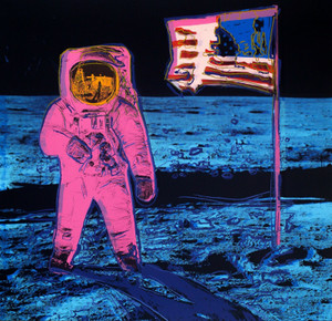 MOONWALK (PINK) BY ANDY WARHOL FOR SUNDAY B. MORNING