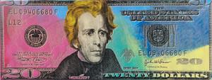 ANDREW JACKSON ON $20 BILL BY STEVE KAUFMAN