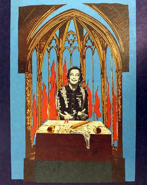 DALI'S INFERNO - THE MAGICIAN BY SALVADOR DALI