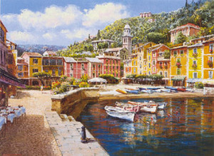 HARBOR AT PORTOFINO BY SAM PARK