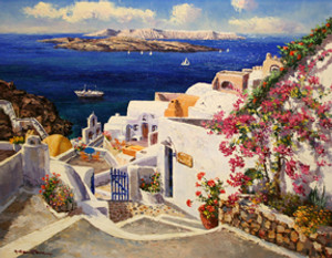 SANTORINI BY SAM PARK