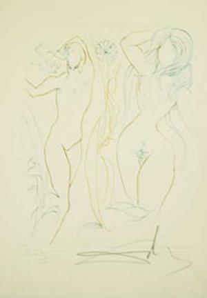 ADAM & EVE BY SALVADOR DALI