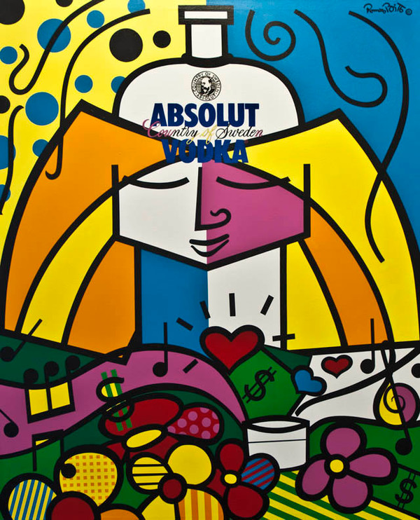 ABSOLUT BRITTO BY ROMERO BRITTO
