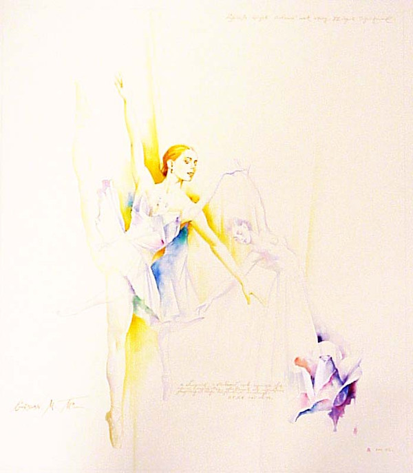 UNTITLED WATER COLOR I BY MICHAEL GORBAN