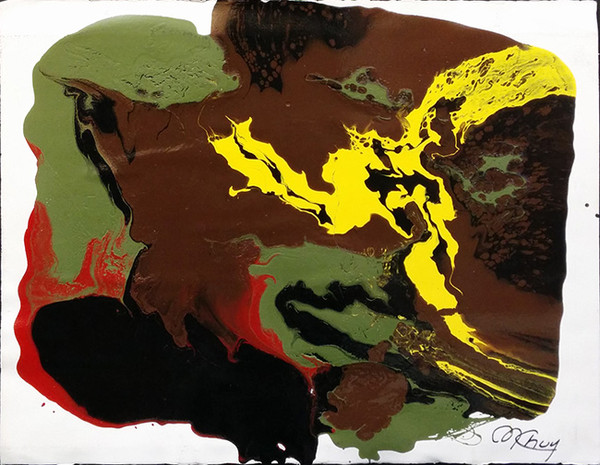 ABSTRACT (BROWN) BY MARIO CHUY