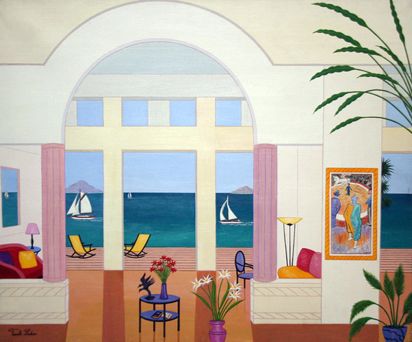 SALON IN SAN REMO BY FANCH LEDAN