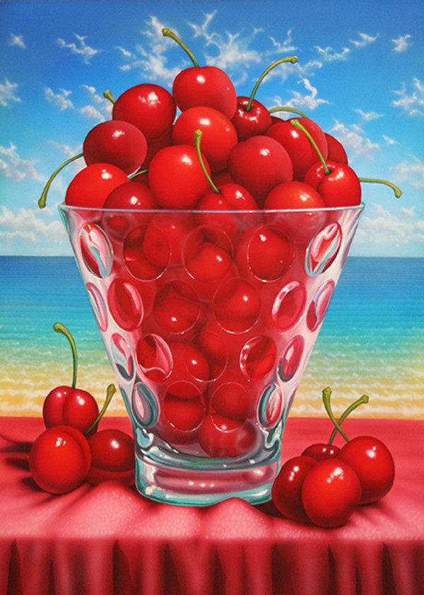 CHERRIES AT THE BEACH BY DAN MEYER