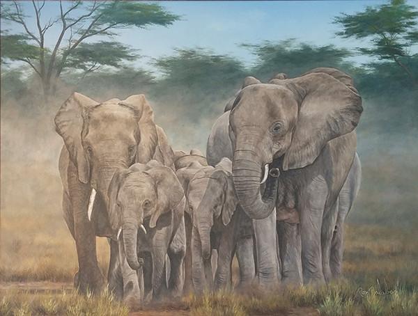 ELEPHANTS BY RON BALABAN