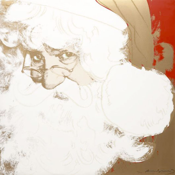 MYTHS: SANTA CLAUS FS II.266 BY ANDY WARHOL