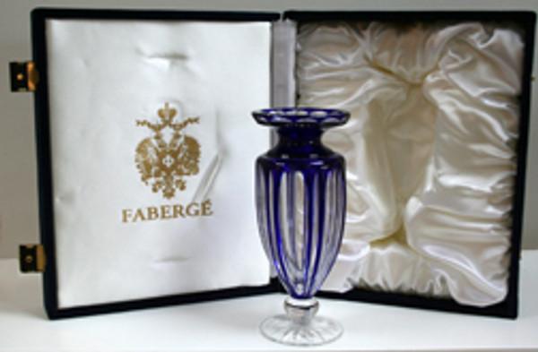 COBALT VASE BY FABERGE