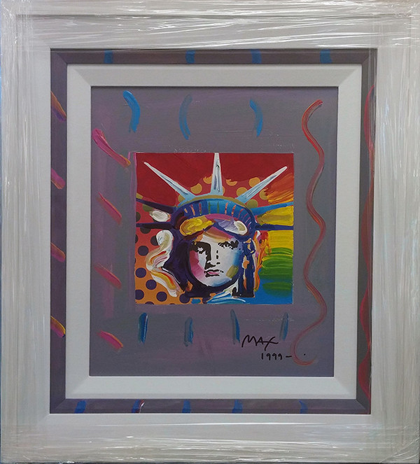 LIBERTY HEAD IV BY PETER MAX