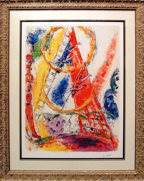 UNTITLED (FROM LE CIRQUE) BY MARC CHAGALL