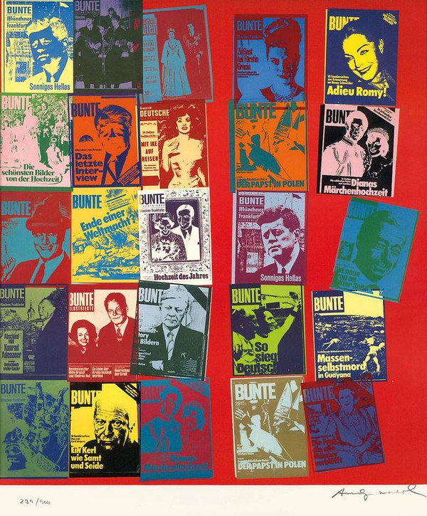 MAGAZINE AND HISTORY FS II.304A BY ANDY WARHOL