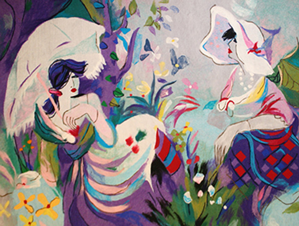 AFTERNOON REST BY ISAAC MAIMON