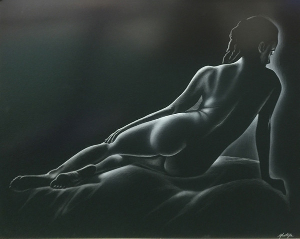 UNTITLED (LAYING NUDE) BY FERNANDO MONTOYA