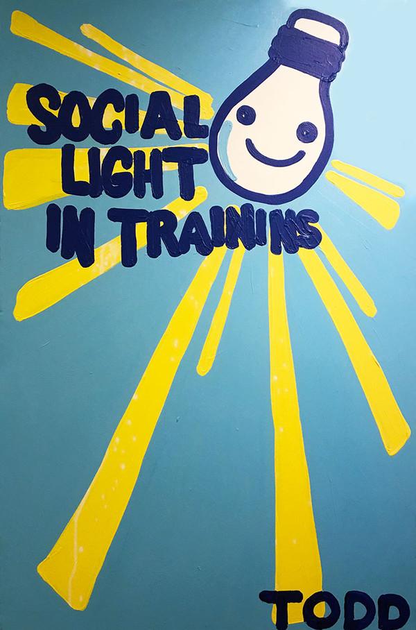 SOCIAL LIGHT IN TRAINING BY TODD GOLDMAN