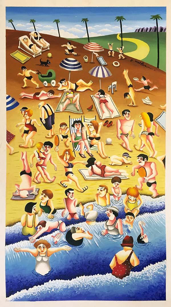 BEACH BY YUVAL MAHLER