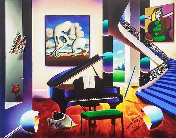 BLACK PIANO BY FERJO