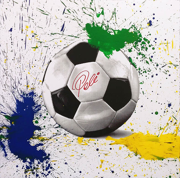 THE KING PELE BY MR. BRAINWASH